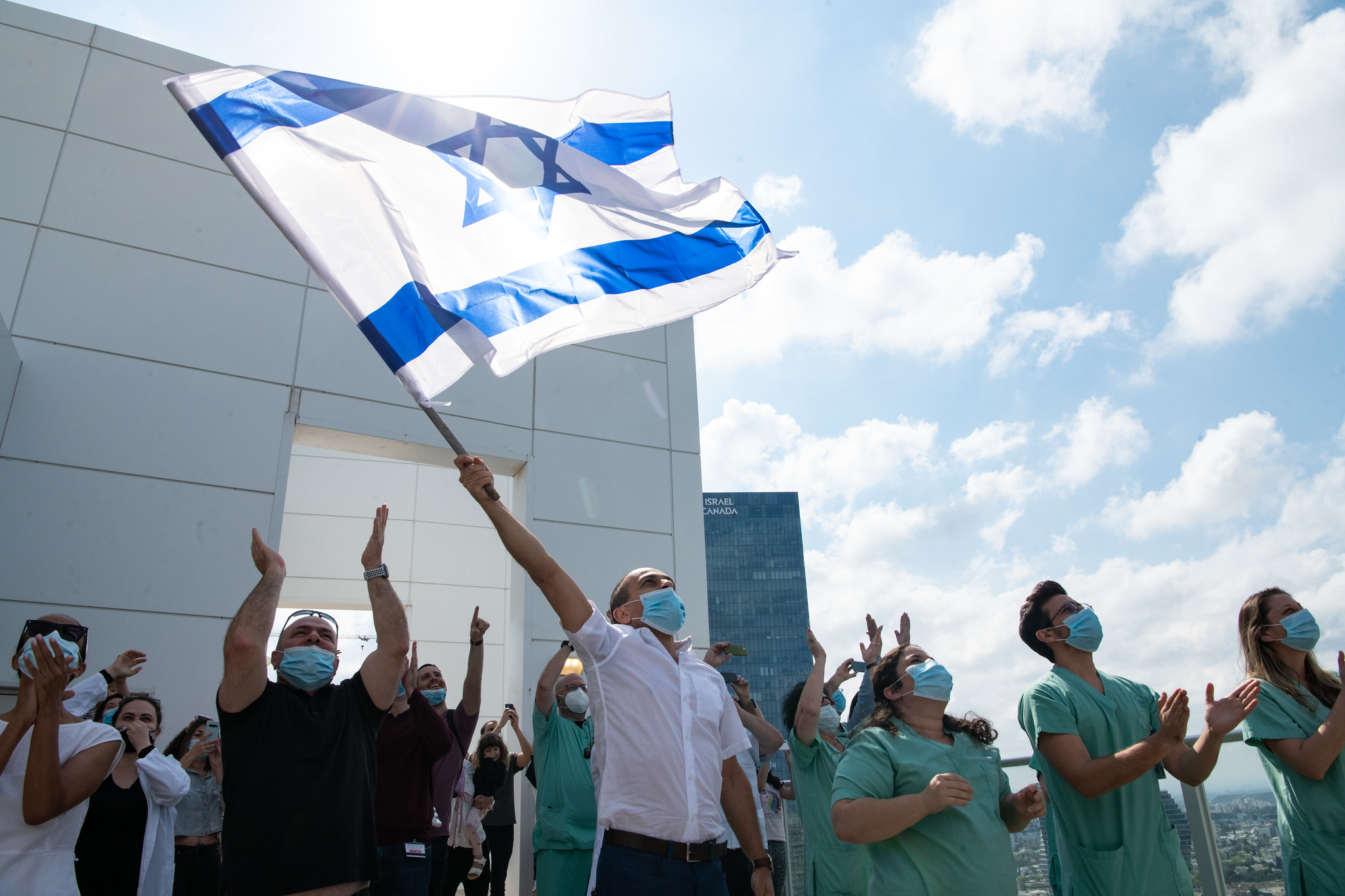 Senki nem halt meg koronavírus-fertőzésben pénteken Izraelben a nyilvántartás szerint