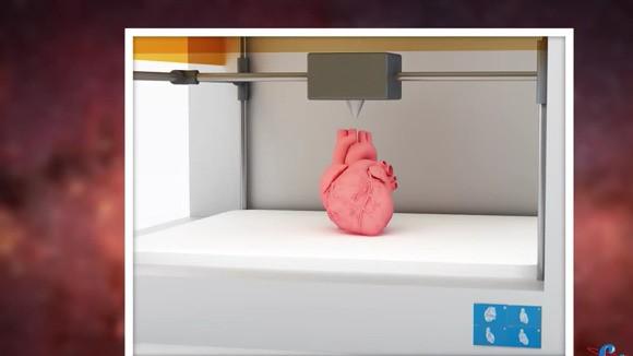 Transzplantációs szervek készülhetnek az űrben 3D-s nyomtatásban