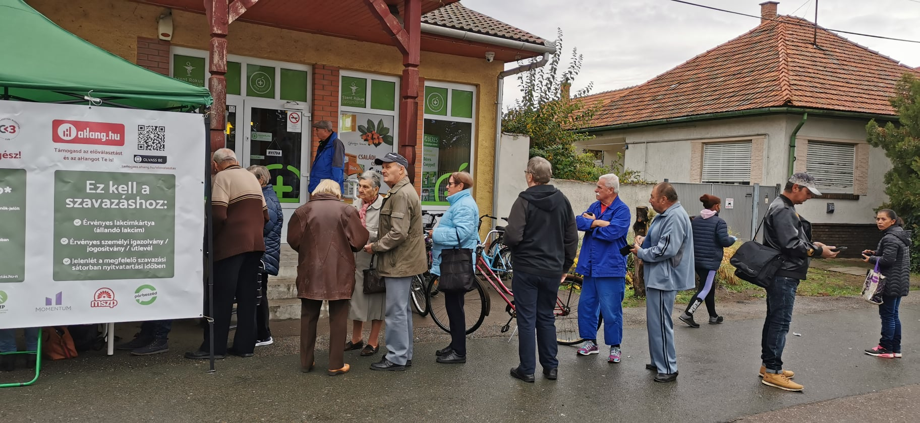 Közel 96 ezren szavaztak csütörtökön az előválasztáson | szmo.hu